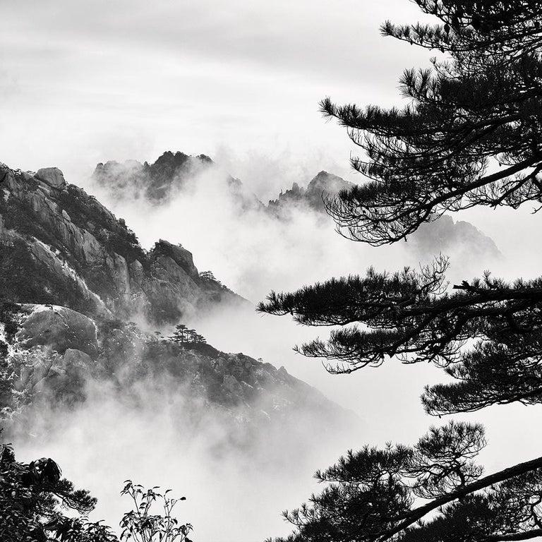 Alexandre Manuel Black and White Photograph - Zhangjiajie III, China