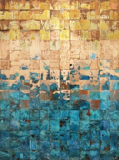 Living, Breathing Landscapes (series), Mixed Media on Wood Panel
