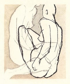 Untitled (Nude) - XXI century, Young artist, Figurative print