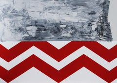 Silence 0.5 - XXI century, Acrylic Painting, Abstract and figurative