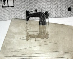 This is not a sewing machine - XXI century, Print, Etching, Interiors