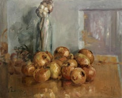 Still life - XXI century, Oil classical painting, Still life
