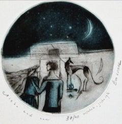Sky above us - XXI century, Figurative print, Limited edition