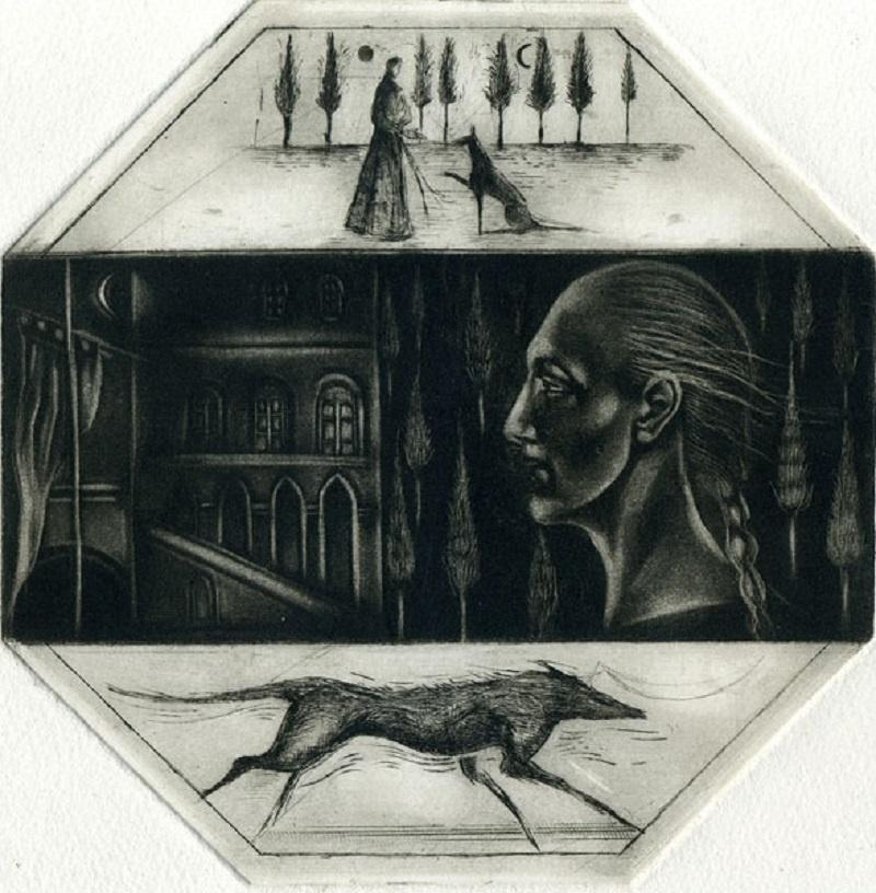 Noon - XXI century, Figurative print, Limited edition