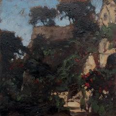Italian motif - XXI century, Oil painting, Landscape