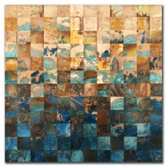 Transitions No.1, Mixed Media on Wood Panel