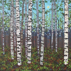 Into the Woods Series II, Painting, Acrylic on Canvas