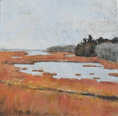 Rachel Carson Reserve, Painting, Oil on Canvas