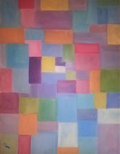 Patchwork, Painting, Oil on Canvas