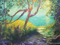 Princess Louisa Marine Park, Painting, Oil on Canvas