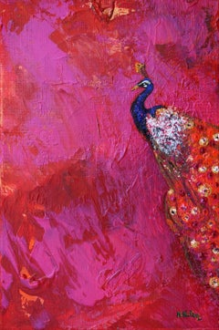 Gardens of Delight XIV-XXI century Figurative oil painting Animals Bright colors