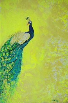 Gardens of Delight XII-XXI century Figurative oil painting Animals Bright colors