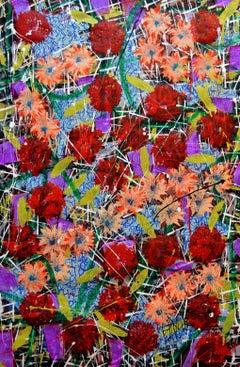Free Jazz Orgasmica, Painting, Acrylic on Canvas