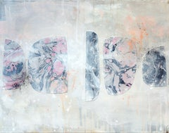 Gibbous Syntax No. 2, Mixed Media on Canvas