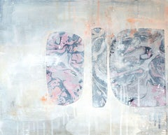 Gibbous Syntax No. 1, Mixed Media on Canvas