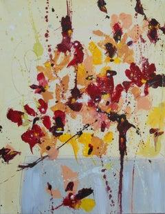 Fleur de Moisson (Flower of Harvest), Painting, Oil on Canvas