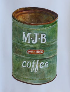 M-J-B Coffee, Painting, Watercolor on Watercolor Paper