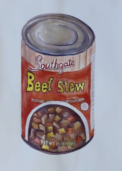 Beef Stew, Painting, Watercolor on Watercolor Paper