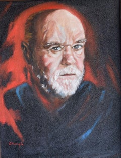 George Carlin, Painting, Oil on Canvas
