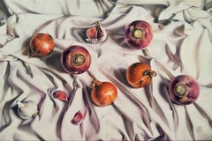 Winter Vegetables, Painting, Oil on Canvas