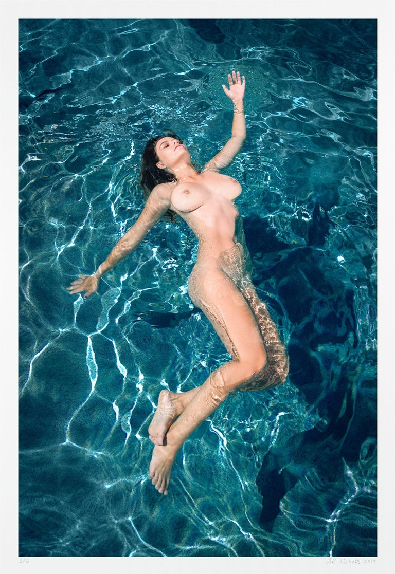 A K Nicholas Color Photograph - Risa Floating 2/6, Photograph, Archival Ink Jet