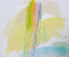 Over the Rainbow, Painting, Acrylic on Canvas
