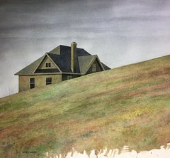 Away From Home, Painting, Watercolor on Watercolor Paper