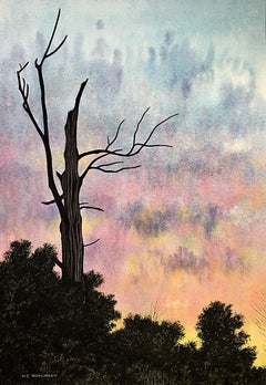 Spirit Tree, Painting, Watercolor on Watercolor Paper