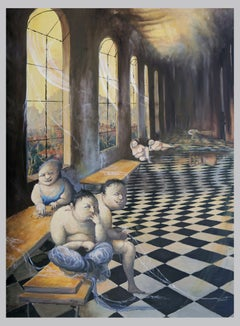 The life inside, Painting, Oil on Canvas