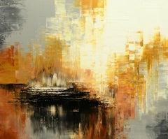 Strange Realms, Painting, Acrylic on Canvas