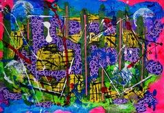 Ventanas, Painting, Acrylic on Paper