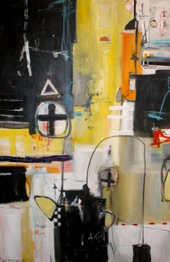 Reflex#2, Painting, Acrylic on Canvas