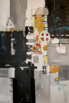 Reflex # 2, Painting, Acrylic on Canvas