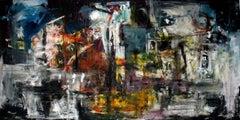 Utopia, Painting, Acrylic on Canvas