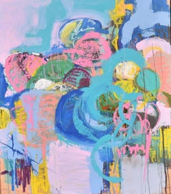 Light & Summer Memory # I, Painting, Acrylic on Wood Panel