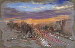 Evening, Painting, Oil on Canvas