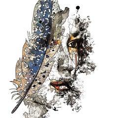 Pensées légères, Digital on Metal