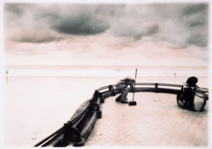 Street sweeper by the sea, Photograph, Archival Ink Jet