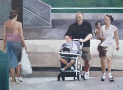 Extended Family, Painting, Oil on Canvas