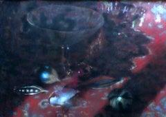 Still life - XX century, Pastel figurative, Colourful