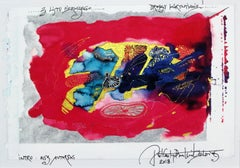 Intro - XXI century, Mixed media, Abstract print