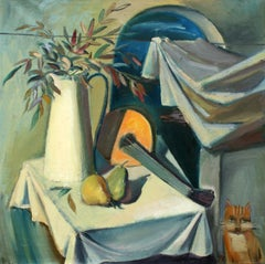 Still life - XX century, Oil figurative painting