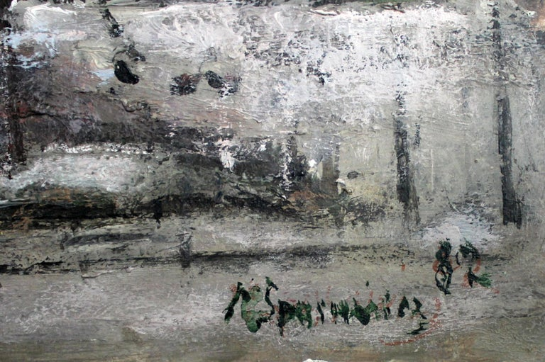 Warsaw. The Old Town - XXI century, Oil on canvas, Figurative, Landscape 3