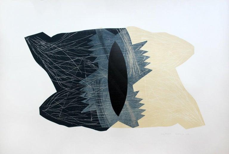 Creature 11 - XXI century, Abstraction, Mixed media print 1