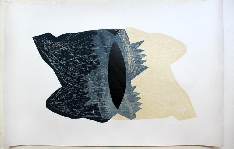 Creature 11 - XXI century, Abstraction, Mixed media print 2