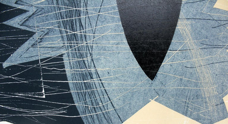 Creature 11 - XXI century, Abstraction, Mixed media print 3