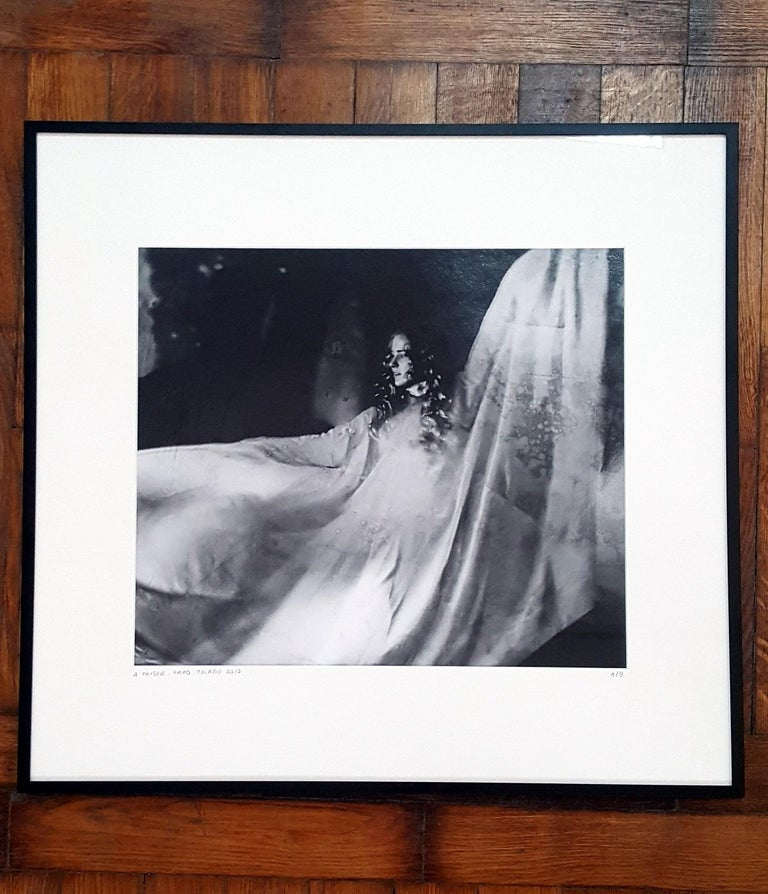 Piano - XXI century, Figurative photography, Black and white - Photograph by Agnieszka Prusak
