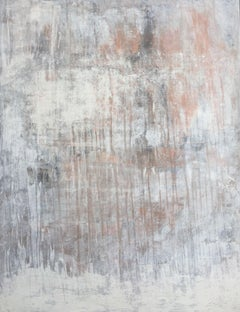 """""""1123 abstract antique copper"""", Painting, Acrylic on Canvas"""