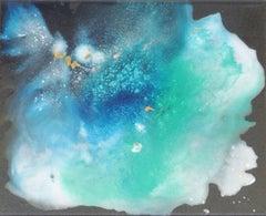 Lagoon Nebula 4, Mixed Media on Canvas