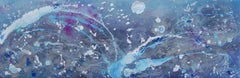 Neptune's Moon, Painting, Acrylic on Canvas